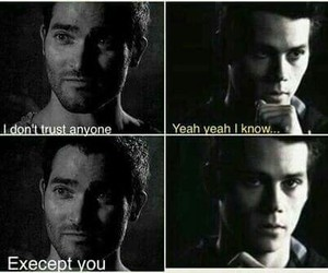teen wolf, sterek, and trust image