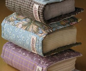 book, crafts, and pillow image