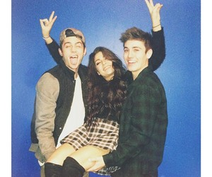 sammy wilkinson, andrea russett, and nate maloley image