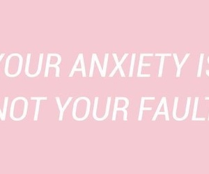 anxiety, quotes, and pink image