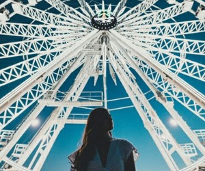 coachella, ferris wheel, and festival image