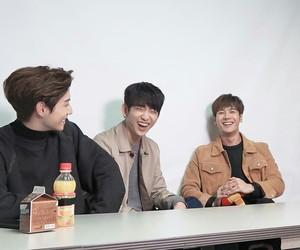 jinyoung, mark tuan, and got7 image