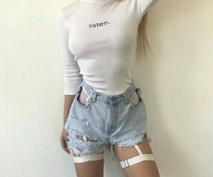 outfits, shorts, and white image