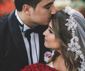 bride, wedding, and gelin image