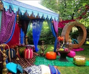 coachella, summer, and colours image