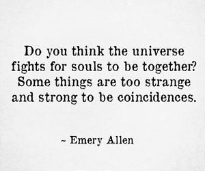 coincidence, karma, and souls image