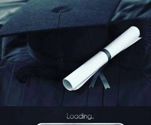 loading, graduation, and school image