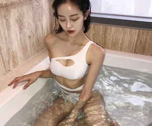 asian, beautiful, and girl image