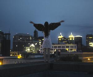 girl, angel, and tumblr image