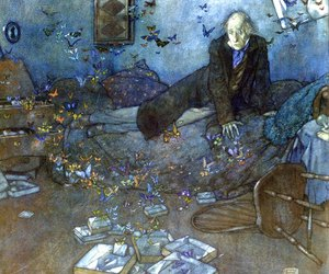 Dream, Edmund Dulac, and illustration image