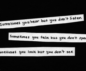 listen, quotes, and see image