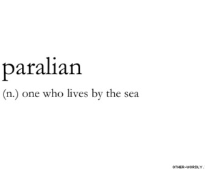 sea, quotes, and text image