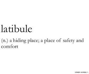 words, quotes, and latibule image