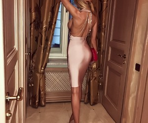 chic, dress, and luxury image