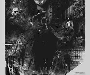 background, batman, and joker image