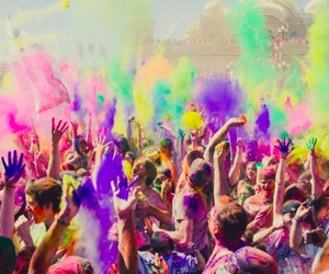 color, colors, and festival of colors image
