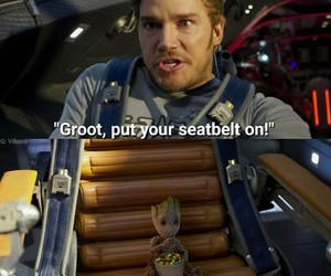 funny, Marvel, and chris pratt image
