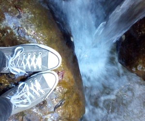 converse, converses, and water image