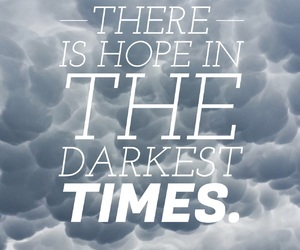 easel, dark times, and hope image