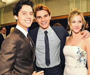 cole sprouse, riverdale, and archie andrews image