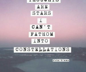 stars, john green, and quote image