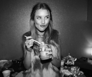 model, peanut butter, and rosie huntington-whiteley image