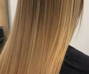 blonde, hair, and bayalage image