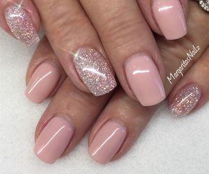 nails and wedding image