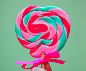 lollipop, candy, and pink image