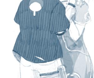 anime, kawaii, and sasuke uchiha image
