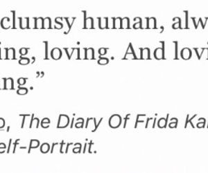 clumsy, deep, and frida kahlo image