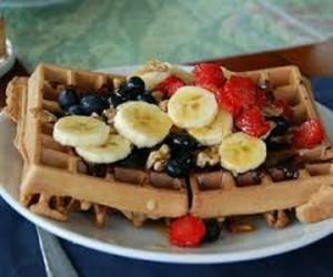 banana, blueberry, and strawberry image