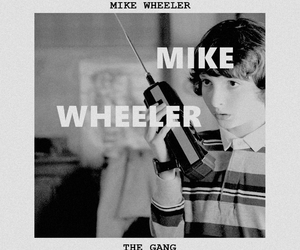 stranger things and mike wheeler image