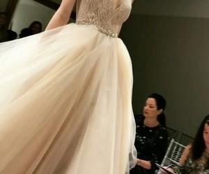 fashion, lazaro bridal, and wedding dress image