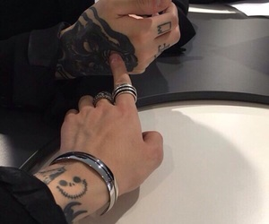 aesthetic, goals, and tattos image