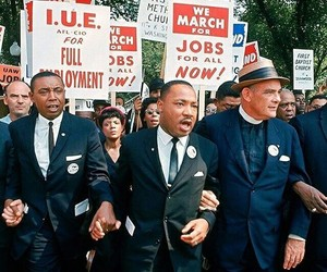 civil rights, freedom, and martin luther king image