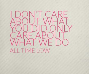 all time low, atl, and Lyrics image