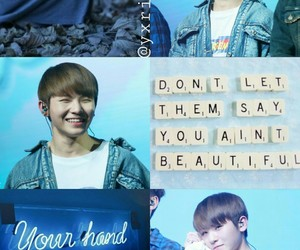 aesthetic, blue, and jihoon image