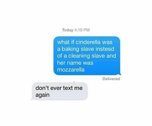 funny, cindrella, and joke image