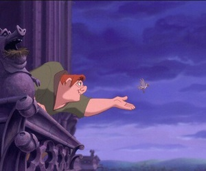 hunchback of notre dame, disney, and quasimodo image