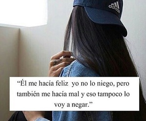 frases, girl, and love image