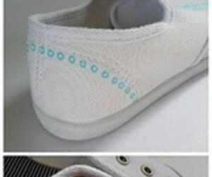 diy, tutorial, and zapatillas image