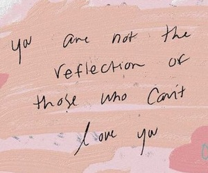 quotes, love, and reflection image