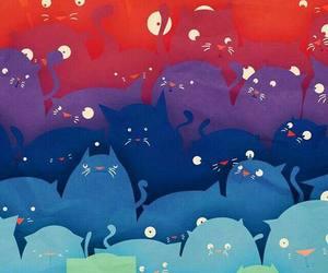 cats, colors, and fondo de pantalla image