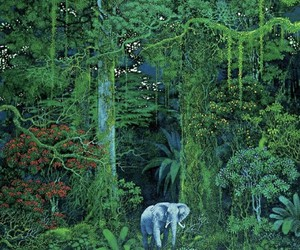 art, elephant, and goals image