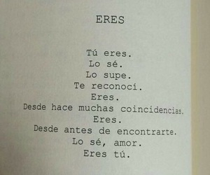 love, frases, and eres image