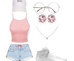 fashion, outfit, and nike air force image
