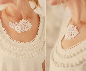 lace and necklace image