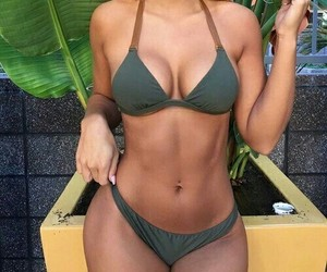 bikini, body inspiration, and fitness image