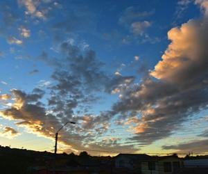 nubes, tarde, and algodon image